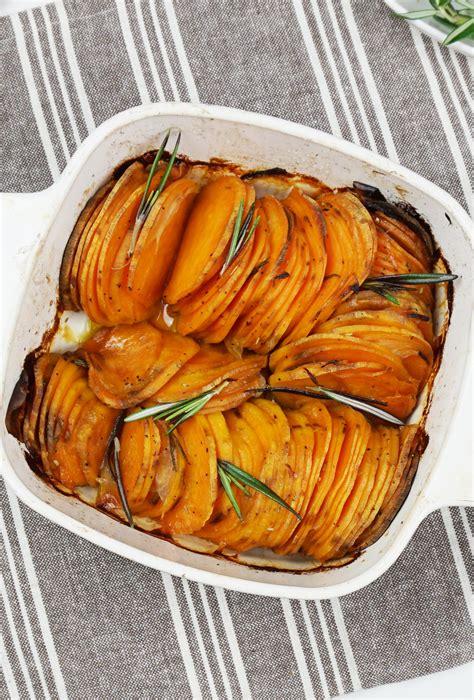 Roasted hasselback sweet potatoes   Bijoux & Bits