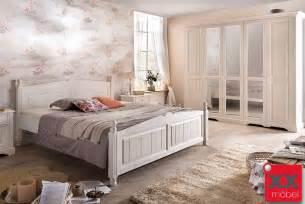 schlafzimmer wei landhausstil schlafzimmer landhausstil weiß pisa romantik teilmassiv stil günstig p02 eur 1 682 00