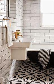 Black White Bathroom Floor Tiles