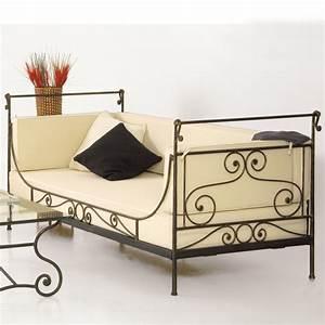 Banquette Fer Forgé : fabricant canap en fer forg si ge banc banquette magasin de meuble vente en ligne ~ Teatrodelosmanantiales.com Idées de Décoration