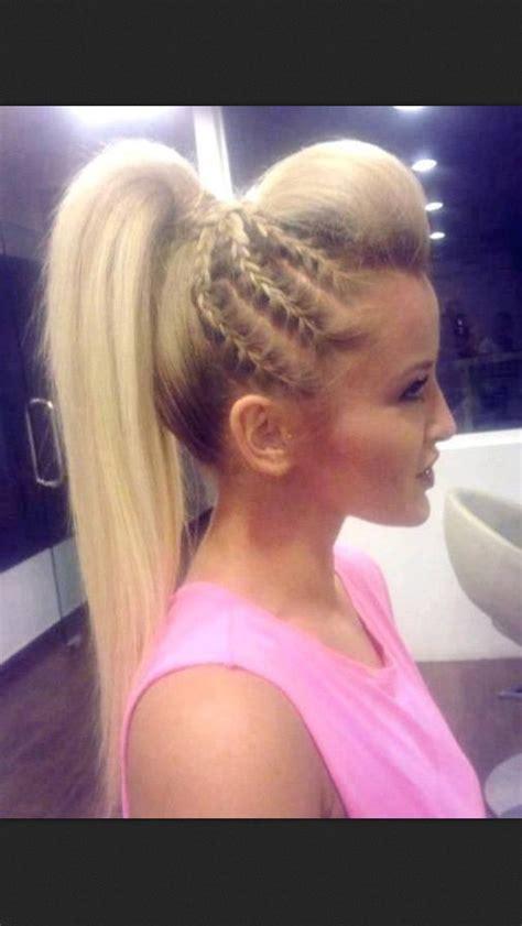 cheerleading hairstyles for long hair hair