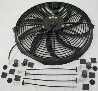 Curved Blade Heavy Duty Electric Radiator Cooling