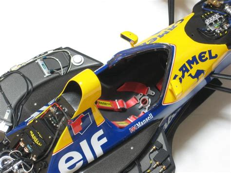 tamiya  williams fwb renault carat diamond