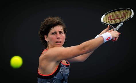 Carla suarez navarro is back hitting on a tennis court as she undergoes cancer treatment. CARLA SUAREZ NAVARRO at 2019 Australian Open at Melbourne Park 01/16/2019 - HawtCelebs