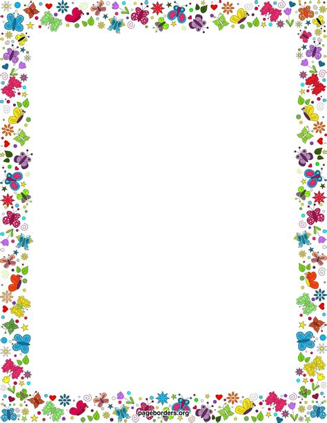 colorful border free colorful borders free clip carwad net