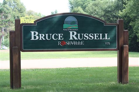 bruce russell park roseville mn official website