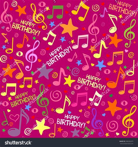 happy birthday seamless background pattern vector stock