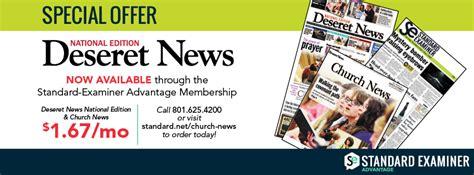 deseret news church news standard examiner
