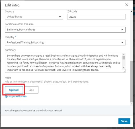 How To Upload Your Resume To Linkedin 2017 by Uploading A Resume To Your Linkedin Profile
