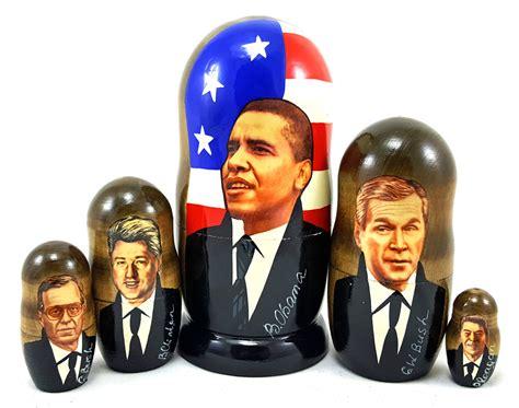 american presidents matryoshka russian legacy