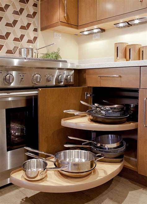 small corner kitchen cabinet 30 corner drawers and storage solutions for the modern kitchen