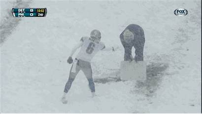 Snow Nfl Please Fox Cameramen Recognition Moment