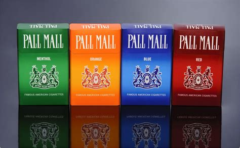 pall mall colors coded to obey marlboro lights become marlboro gold