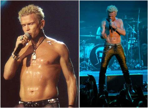 Fuel Billy Idol Passion His Height Weight