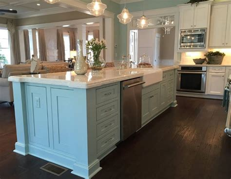 turquoise kitchen island new 2015 coastal virginia magazine idea house home bunch