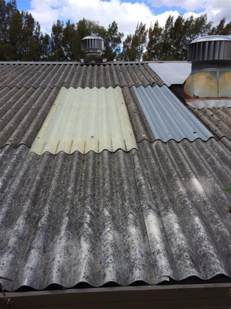 arrest leakages  asbestos sheet roofing