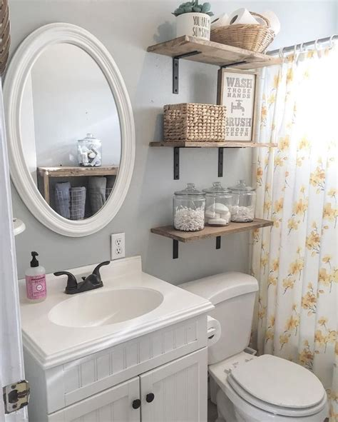Decor Ideas For Small Bathrooms by 8 Bathroom Floating Shelves Design To Save Room