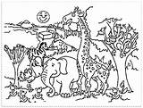 Zoo Coloring Pages Getdrawings sketch template