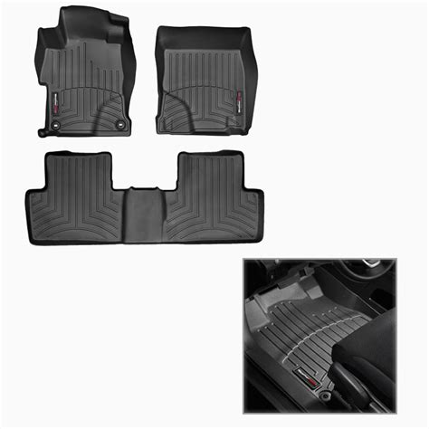 weathertech floor mats honda civic 2017 weathertech digitalfit floorliner floor mats for 2017 honda civic