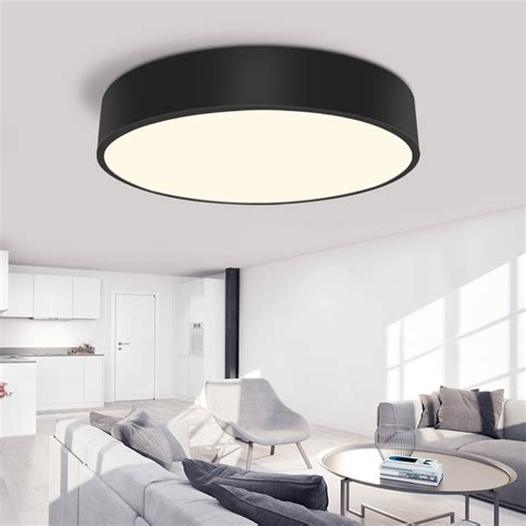 bedroom ceiling lights modern led ceiling light simple decoration fixtures 10303 | Modern LED ceiling light Round simple decoration fixtures study diningroom balcony bedroom living room ceiling lamp