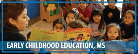 early childhood education ms texas  university corpus