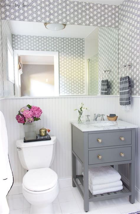 small guest bathroom makeover