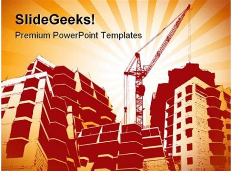 building construction powerpoint templates  powerpoint
