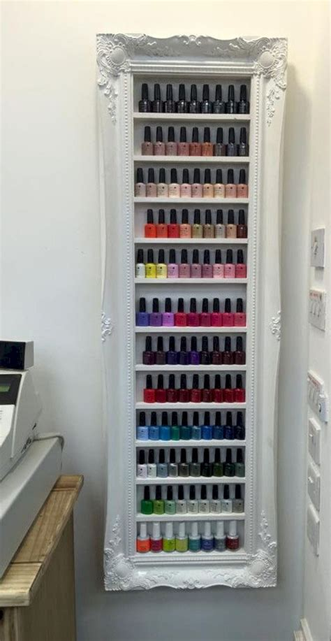 nail display rack 15 nail storage ideas futurist architecture