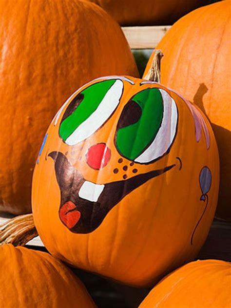 pumpkin painted pumpkin