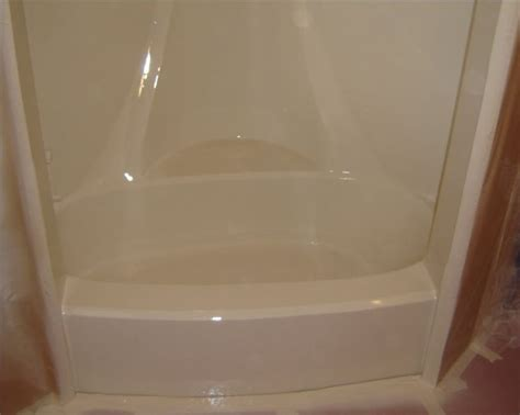 Bathtub Refinishing Paint by How To Paint A Fiberglass Tub House For Sale Shower