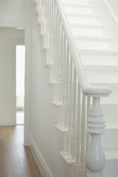 painting a banister white best 25 white stairs ideas on stairs painted
