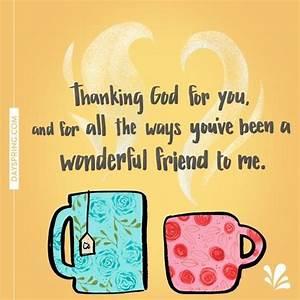 Thank you Ninie... Friendship Wonderful Quotes