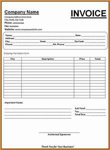 4 bill format in word for professional services simple bill for Professional invoice template word