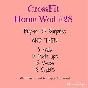 Crossfit Home Wod  28