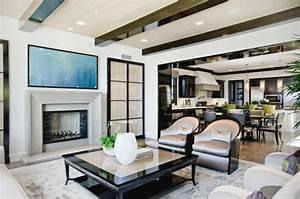 Style De Maison : int rieur design d une jolie maison c ti re californienne ~ Dallasstarsshop.com Idées de Décoration