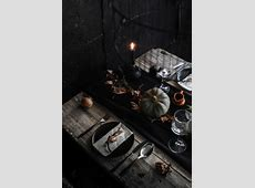 Conjure up a Dramatic Halloween Table Setting