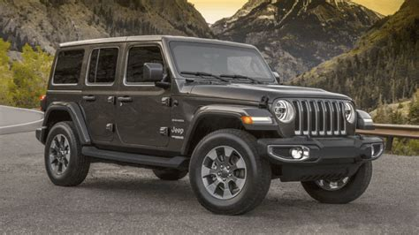 jeep wrangler jl  jk revealed