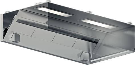 Canopy Single Filter Bank Ckv Hoods