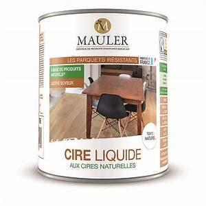 cire liquide aux cires naturelles pour meuble et parquet With cire liquide parquet