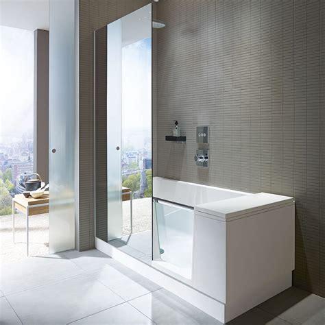 Duschen In Badewanne by Duravit Shower Bath Dusch Badewanne Ecke Links 170 X 75