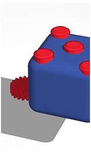 3D design Fidget cube   Tinkercad