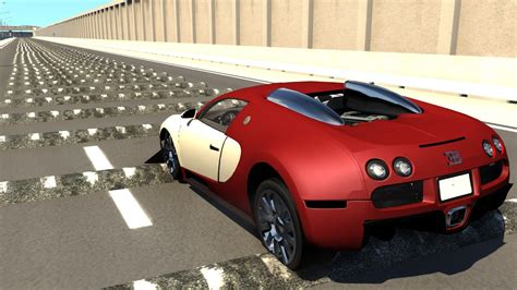Hypercar bugatti veyron for the beamng drive. BeamNG DRIVE Consecutive Speed Bumps High Speed Crashes ep,1 - CrashArmy - YouTube