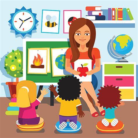 royalty free preschool clip vector images 381 | kindergarten children studying in classroom vector id492308572?k=6&m=492308572&s=612x612&w=0&h=1qWyDoQ F6vVjcTNSYA3KX9WXtVC QoSymC78s1058M=