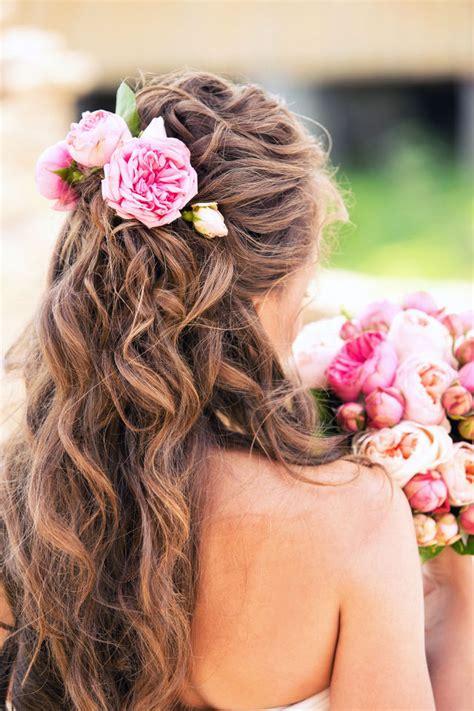 acconciature  fiori le idee piu belle