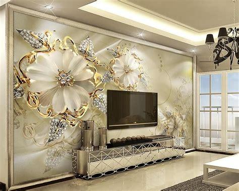 3d Wallpaper Deco by Jewelery Background Wallpaper Home Decor Custom