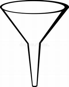Funnel vector illustration stock vector. Illustration of ...