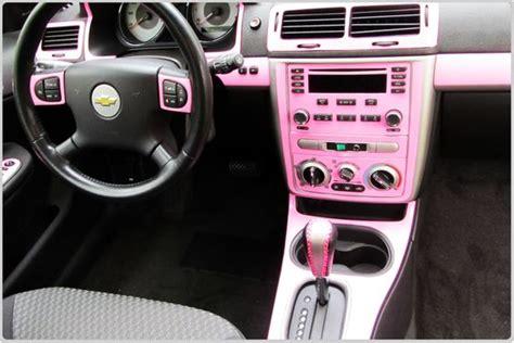 diy car pink interior chevrolet dash kits custom dash