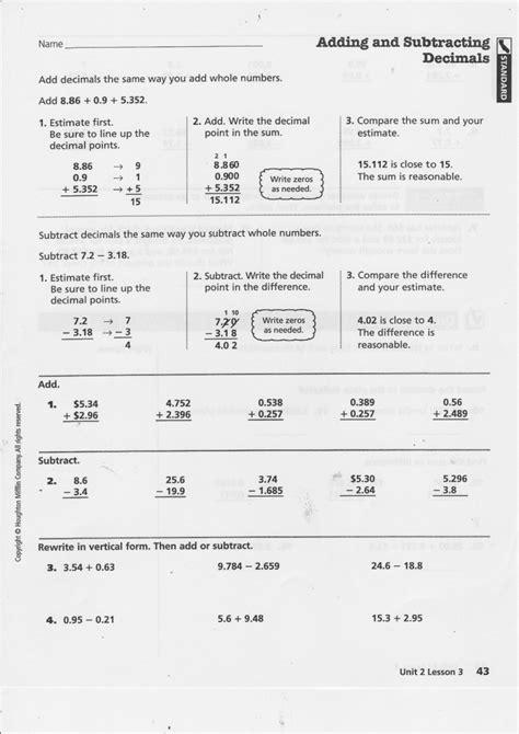 decimals worksheets for grade 5 cbse homeshealth info