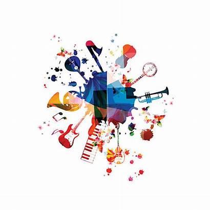 Vector Instruments Entertainment Culture Illustration Arts Background
