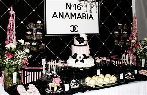 chanel birthday party ideas photo    catch  party